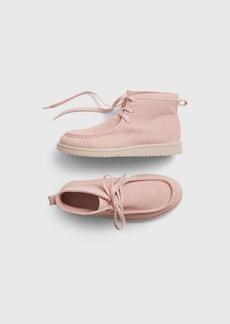 Gap Kids Pink Moc-Toe Boot