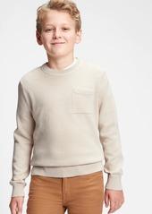 Gap Kids Pocket Crewneck Sweater