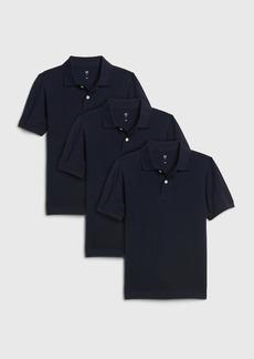Gap Kids Polo Shirt (3-Pack)