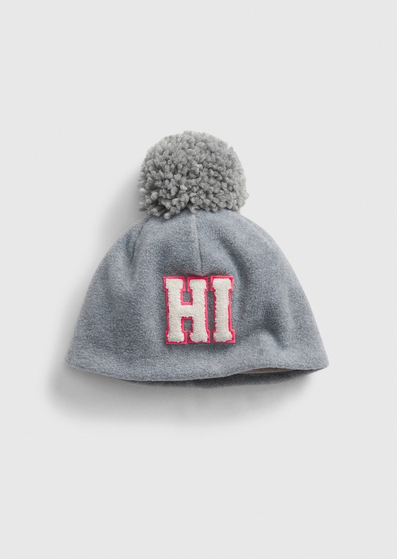Gap Kids Pom Graphic Beanie