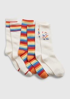Gap Kids Pride Tube Socks (3-Pack)