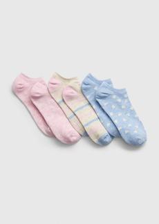 Gap Kids Print Ankle Socks (3-Pack)
