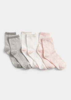 Gap Kids Print Crew Socks (3-Pairs)