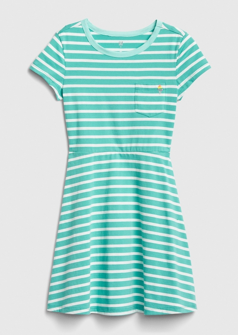 Gap Kids Print Fit and Flare Dress