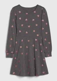 Gap Kids Print Fit and Flare Dress