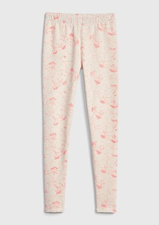 Gap Kids Print Leggings in Soft Terry