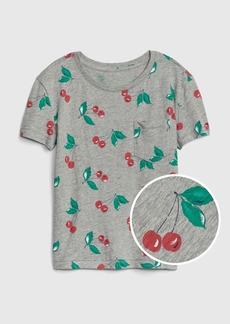 Gap Kids Print Pocket Short Sleeve T-Shirt