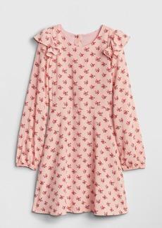 Gap Kids Print Ruffle Dress