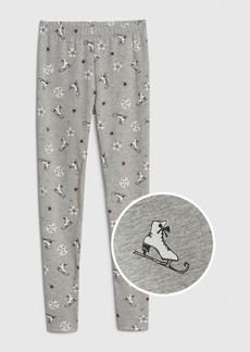 Gap Kids Print Soft Terry Leggings