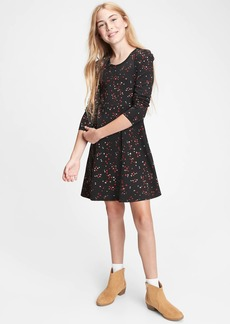 Gap Kids Printed Skater Dress