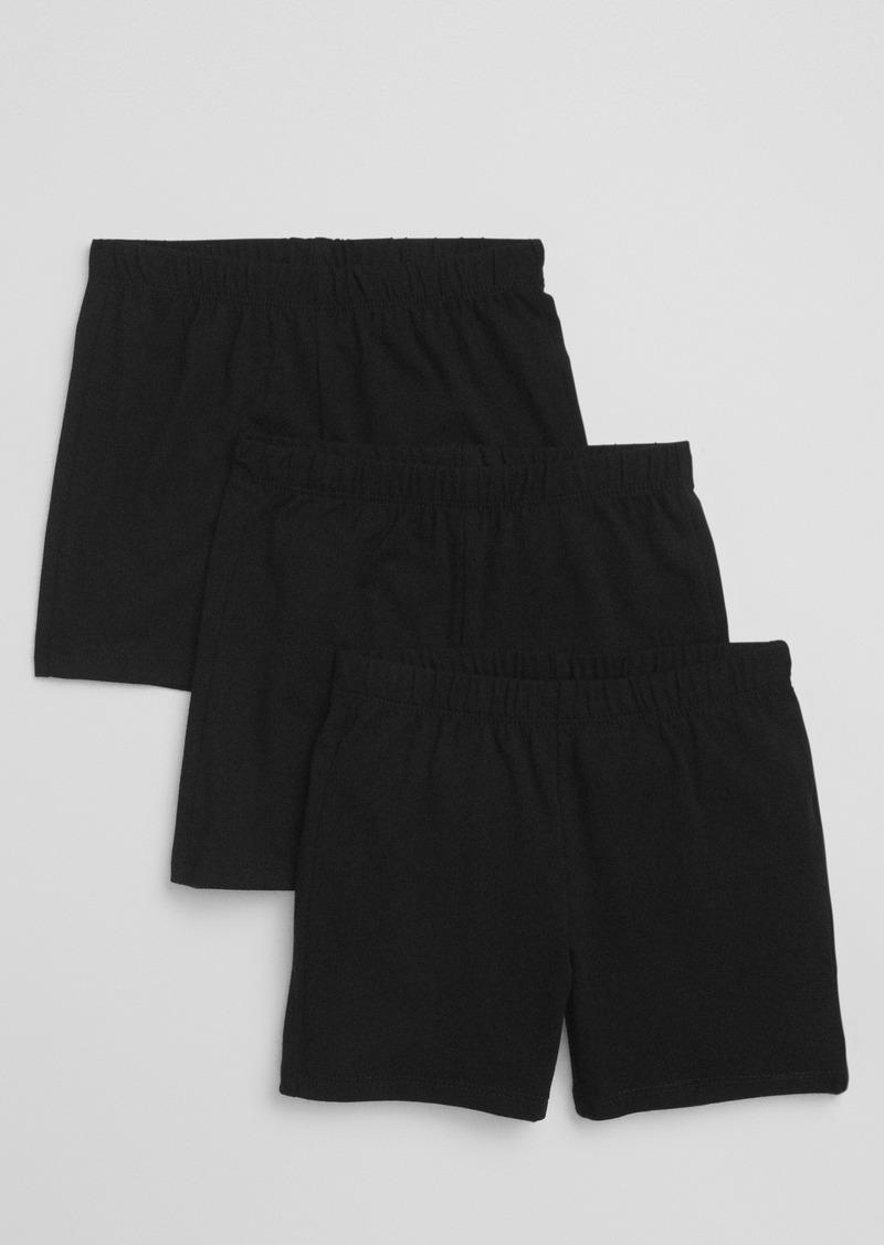 Gap Kids Pull-On Cartwheel Shorts (3-Pack)