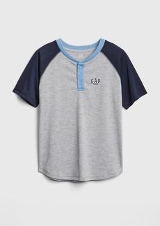 Gap Kids Raglan Henley Pj T-Shirt