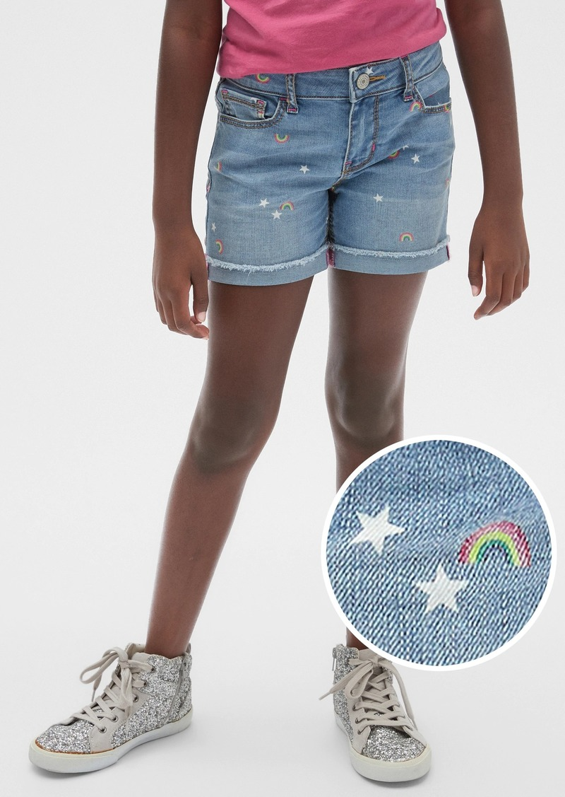 Gap Kids Rainbow Midi Shorts