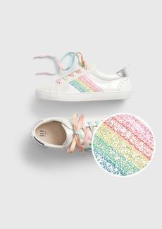 Gap Kids Rainbow Stripe Sneakers