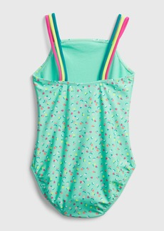 Gap Kids Recycled Fruit Swim One-Piece