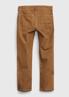 Gap Kids Recycled Straight Carpenter Jeans with Stretch