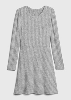 Gap Kids Ribbed Skater Dress