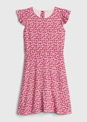 Gap Kids Ruffle Fit and Flare Dress