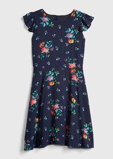 Gap Kids Ruffle Fit and Flare Dress