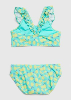 Gap Kids Ruffle Lemon Swim Two-Piece