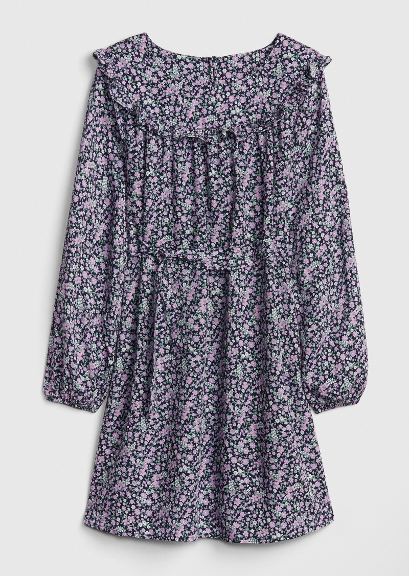 Gap Kids Ruffle Tie-Belt Dress