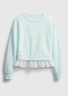 Gap Kids Ruffle Trim Sweatshirt