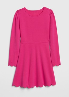 Gap Kids Scalloped Fit and Flare Dress