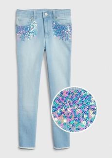 Gap Kids Sequin Super Skinny Jeans with Fantastiflex