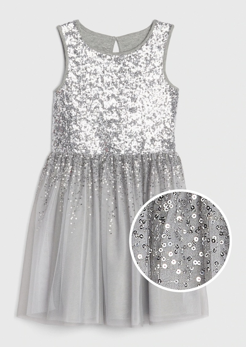 Gap Kids Sequin Tulle Dress