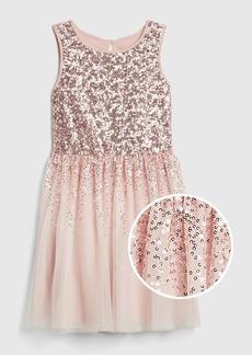 Gap Kids Sequin Tulle Dress
