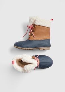 Gap Kids Sherpa Duck Boots