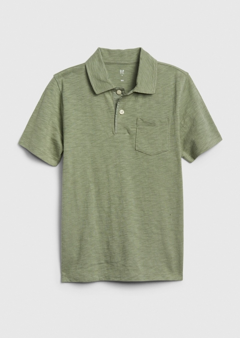 Gap Kids Short Sleeve Polo Shirt