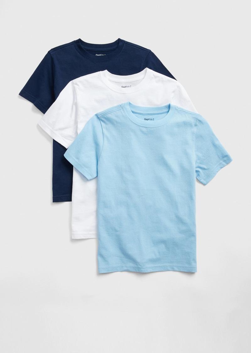 Gap Kids Short Sleeve T-Shirt (3-Pack)