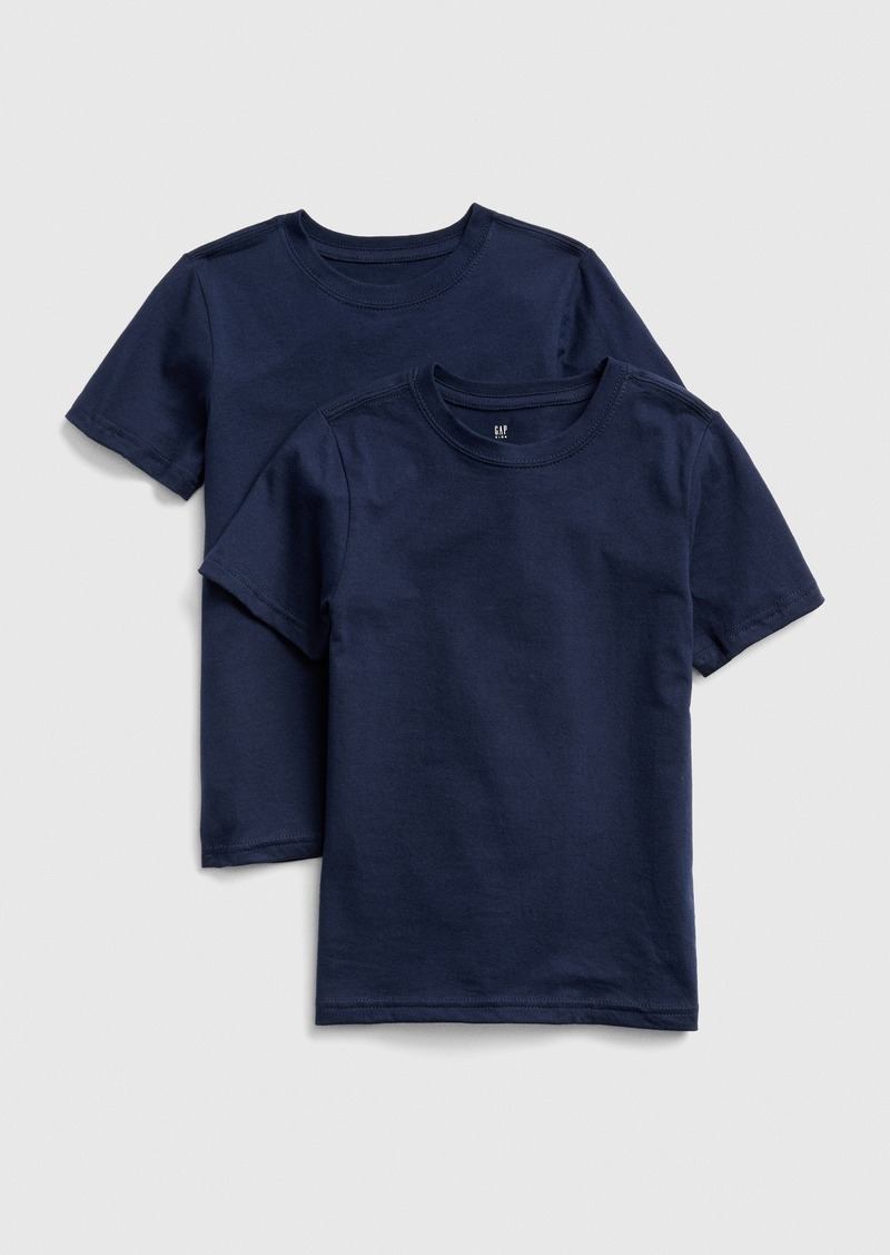 Gap Kids Short Sleeve Undershirt (2-Pack)