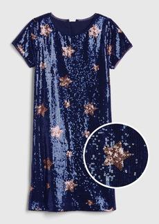 Gap Kids Star Sequin Dress