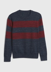 Gap Kids Stripe Crewneck Sweater