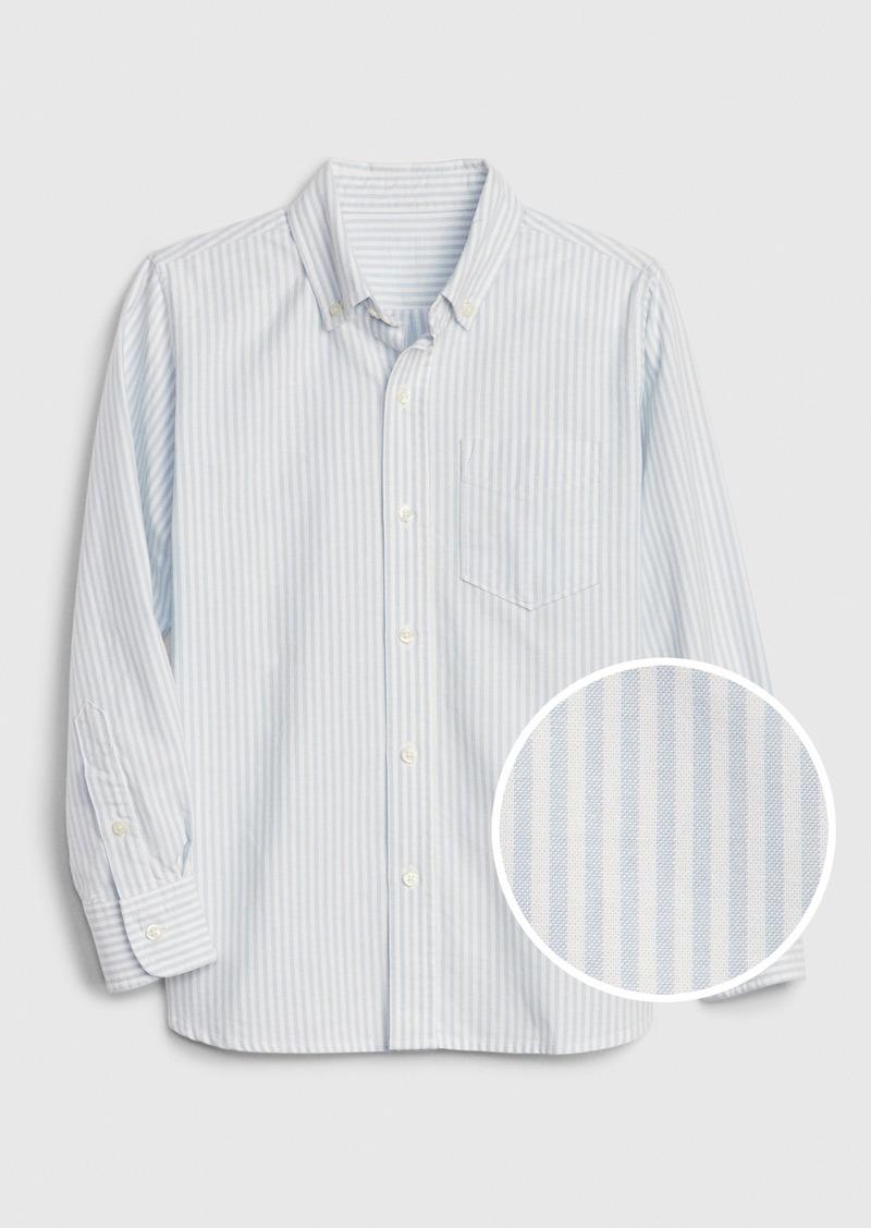 Gap Kids Stripe Oxford Shirt