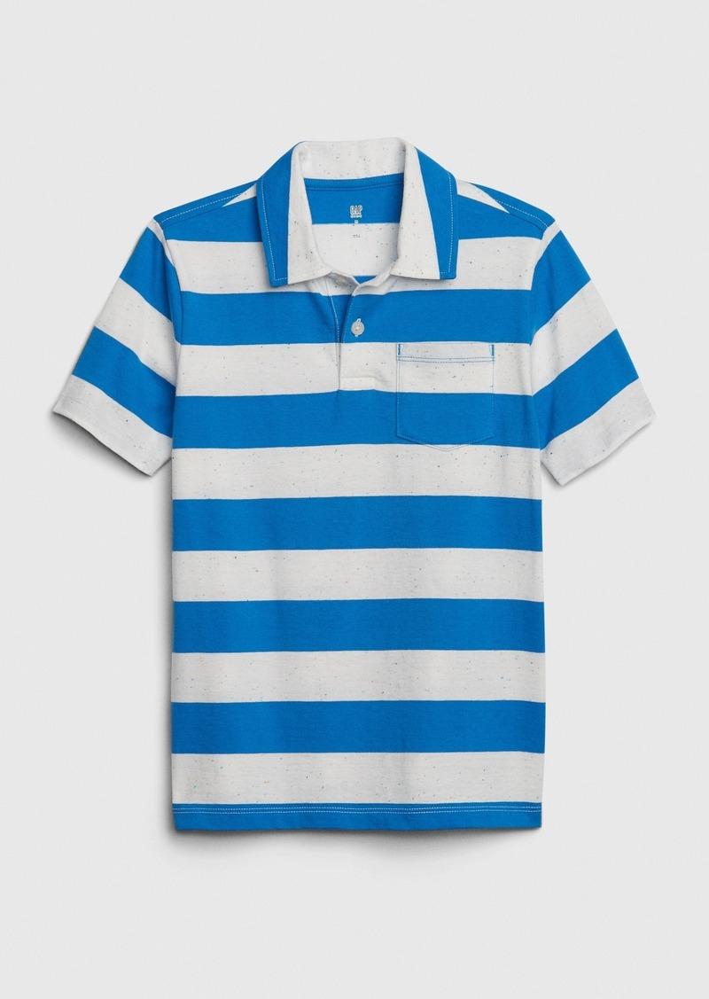 Gap Kids Stripe Polo T-Shirt