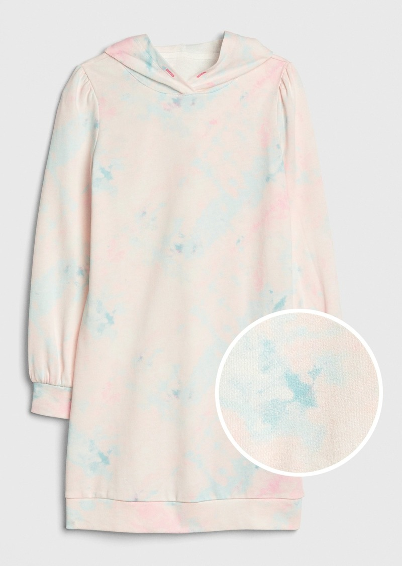 Gap Kids Tie-Dye Hoodie Dress