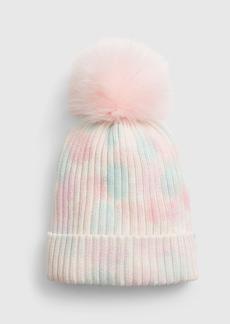 Gap Kids Tie-Dye Pom Hat