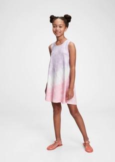 Gap Kids Tie-Dye Trapeze Dress