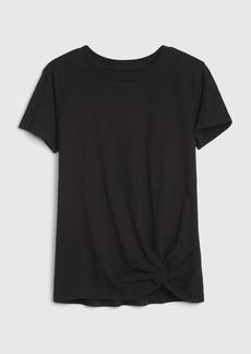 Gap Kids Tie-Front T-Shirt