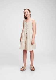 Gap Kids Tiered Denim Dress