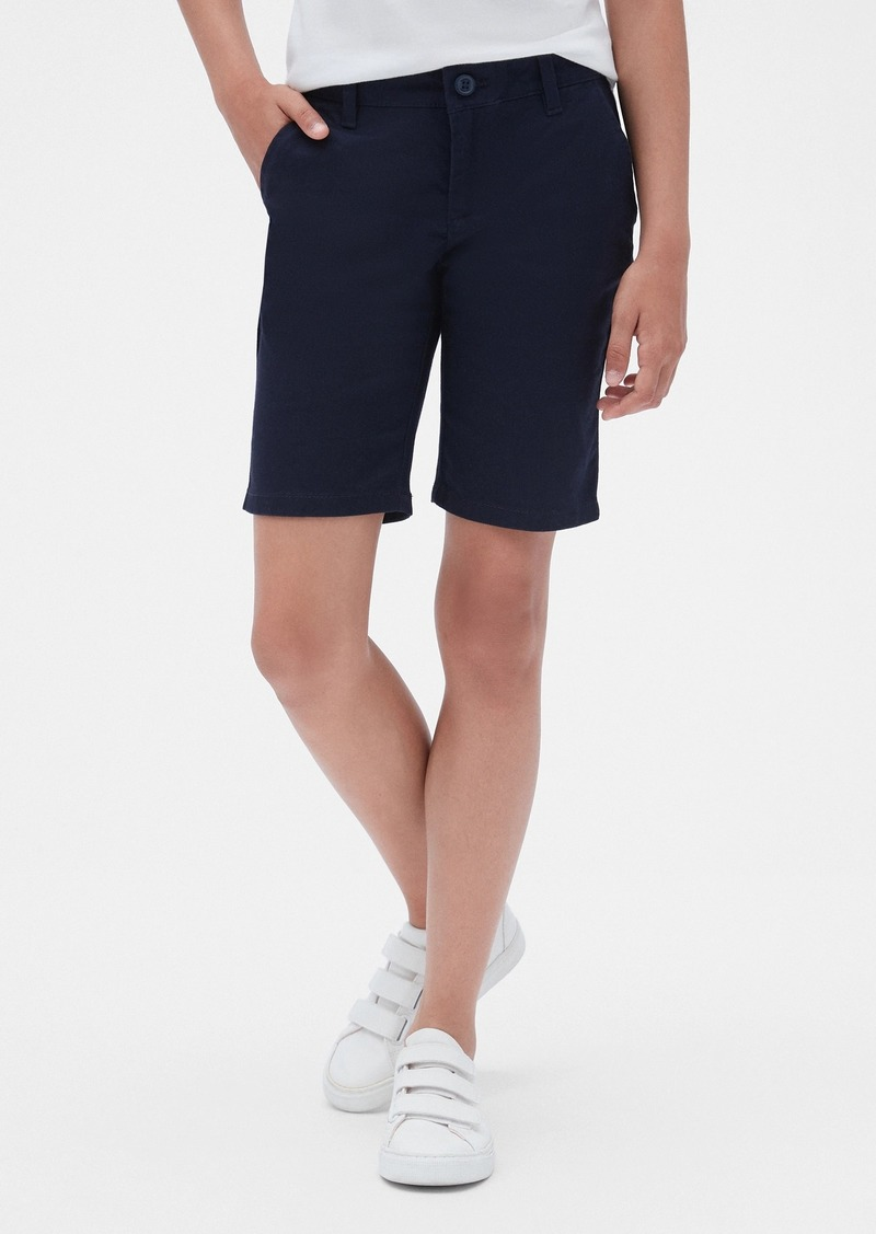 Kids Uniform Bermuda Shorts with Gap Shield