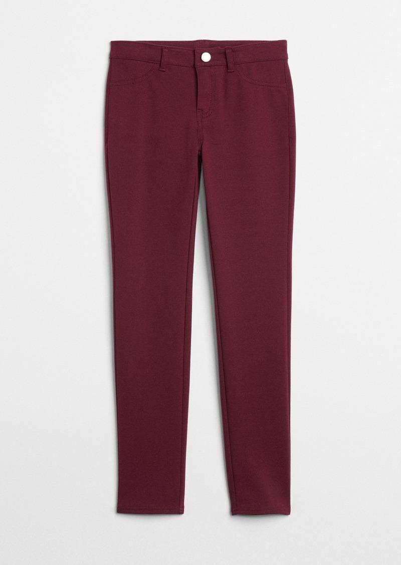Gap Kids Uniform Ponte Pants