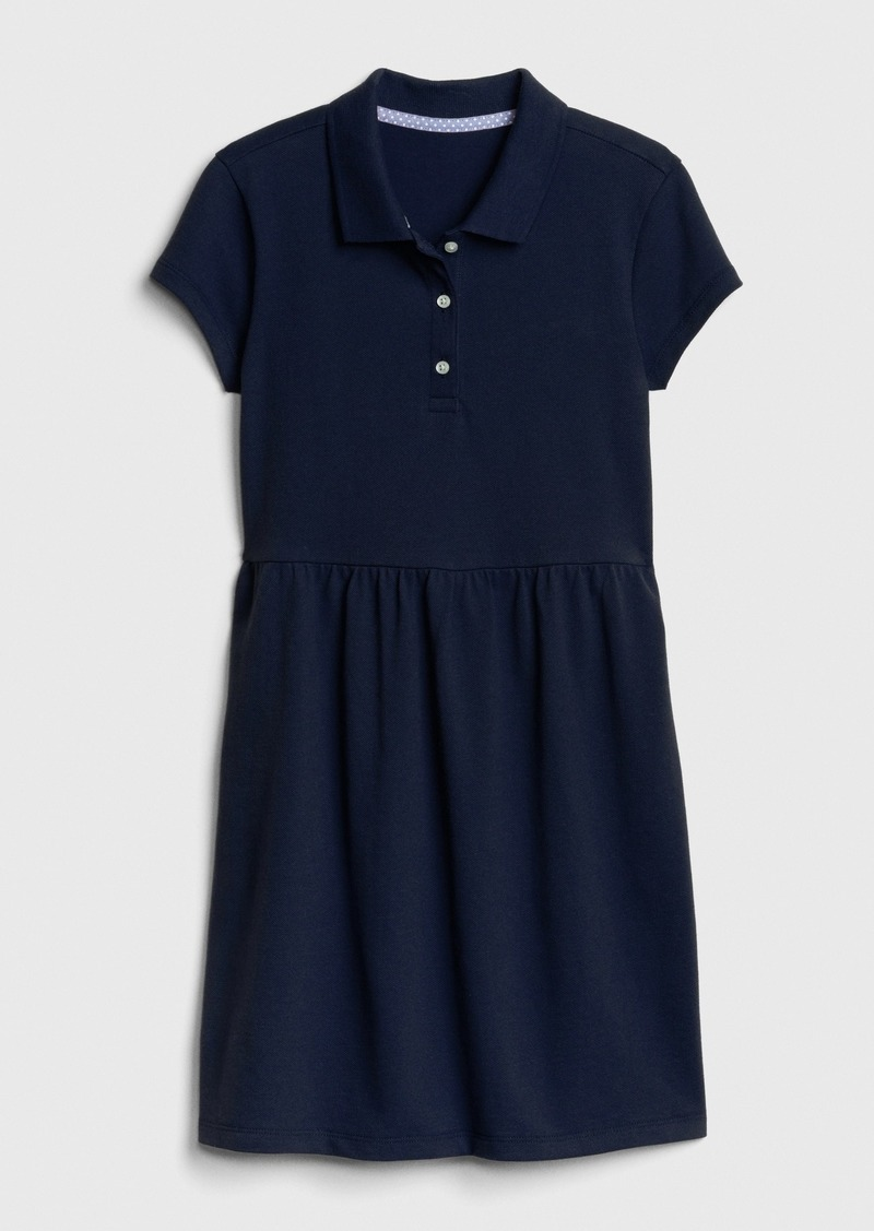 Gap Kids Uniform Short Sleeve Polo Dress