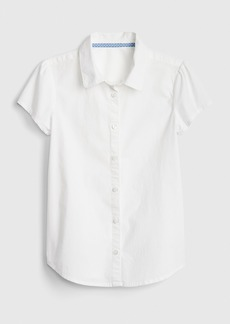 Gap Kids Uniform Short Sleeve Shirt