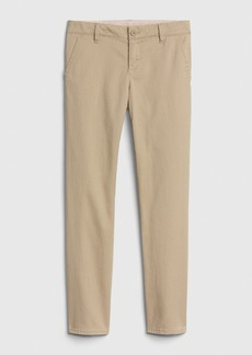 Kids Uniform Skinny Chinos with Gap Shield