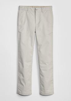 Kids Uniform Straight Khakis with Gap Shield
