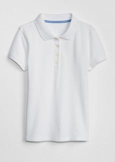 Gap Kids Uniform Stretch Short Sleeve Polo Shirt
